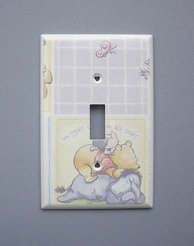 Pooh Switchplate (Classic Pooh Single Switch Plate switchplate #2)