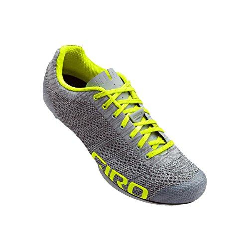 E70 Cycling Empire Grey Yellow Giro Knit Heather Highlight Shoe Men's 5q1wHtHO