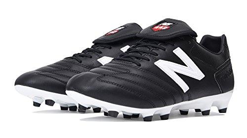 New Balance Men's 442 Pro FG V1 Classic Soccer Shoe, Black/White, 11 2E US -