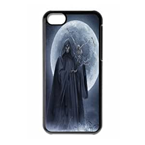 LJF phone case C-Y-F-CASE DIY Design Grim Reaper Pattern Phone Case For phone Iphone 5C