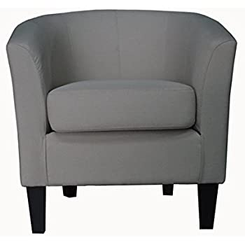 Amazon Com Modern Barrel Chair Chic Contemporary Accent