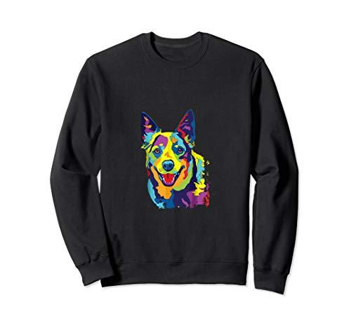 Cattle Dog Shirt Funny Australian Cattle Dog Pop-Art Shirt ()