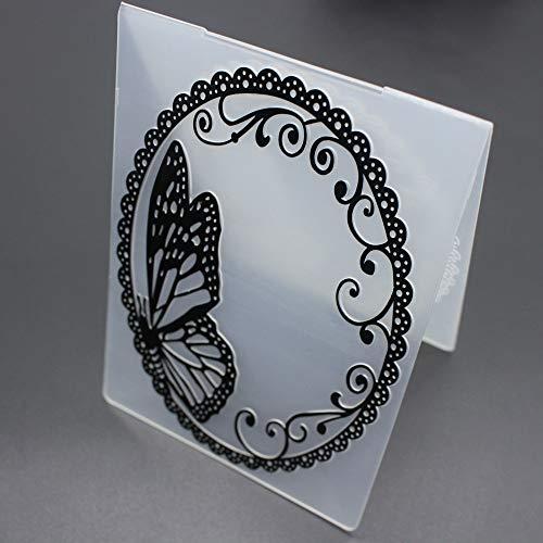 NszzJixo9 Scrapbook Mirror Design DIY Paper Cutting Dies Scrapbooking Plastic Embossing Folder