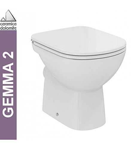 Ceramica Dolomite Gemma 2.Ceramica Dolomite Wc A Pavimento Serie Gemma 2 J522301