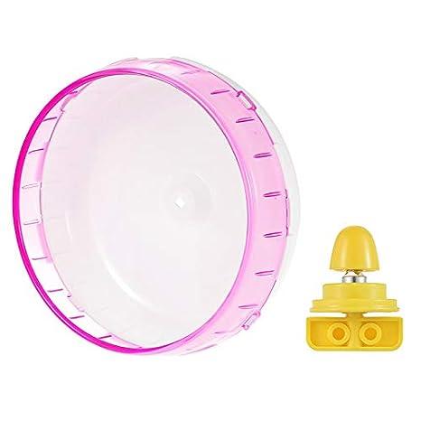 Giocattolo rotante per criceti e criceti 14cm Pink Wellouis