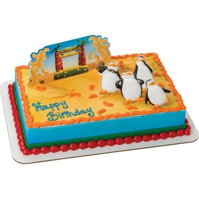 Penguins of Madagascar Sneak Attack! Cake Topper Decoration