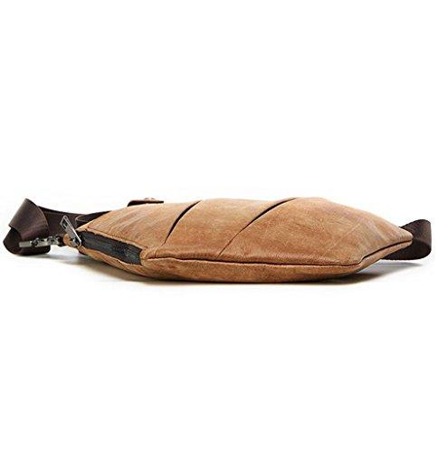 Sucastle 1 Vintage Briefcases Capacity Design Men's Leather Bags Shoulder Large Messenger vqv7Prw