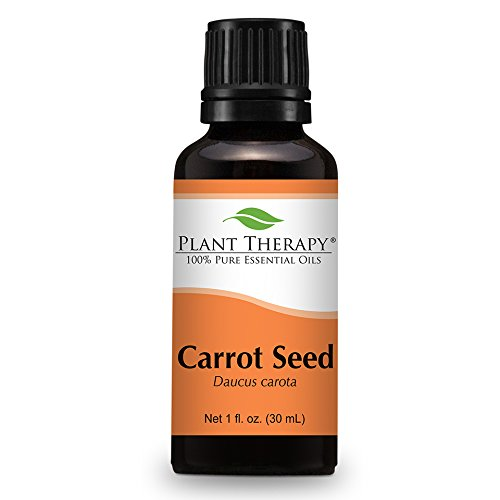 Plant Therapy Carrot Seed Essential Oil. 100% Pure, Undiluted, Therapeutic Grade. 30 mL (1 Ounce).