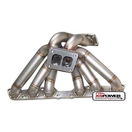 Amazon.com: XS-Power Toyota T4 Turbo Manifold 1998-2005 Lexus IS300 GS300 2JZ-GE NA-T: Automotive
