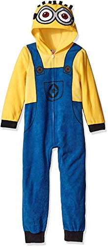 Minions Big Boys' Minion Family Cosplay Union Suit, Yellow, 8