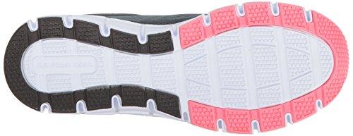 U.S. Polo Assn. Womens Womens Raven-EK Fashion Sneaker Slate Grey/Coral/Black BbauA