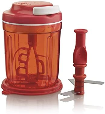 Tupperware Chef Multi-Chef Rojo D169 para Picar y Abrir Speedy P 20712: Amazon.es