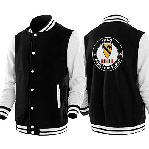 PLO US Army 1st Cavalry Mens & Womens Baseball Jackets Unisex Uniform Varsity Jackets