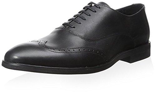 Bacco Bucci Men's Perkins Oxford, Black, 10.5 M US