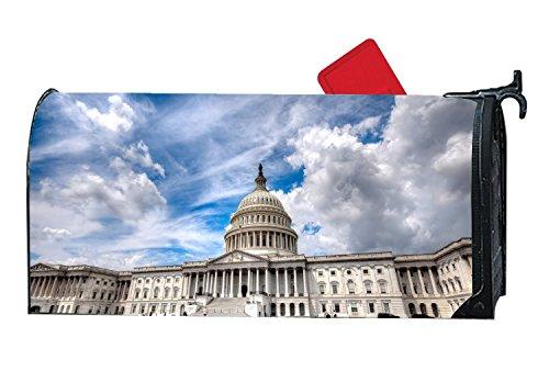XPNiao Magnetic Garden Yard Mailbox Cover Capitol Washington Tourism Travel by XPNiao
