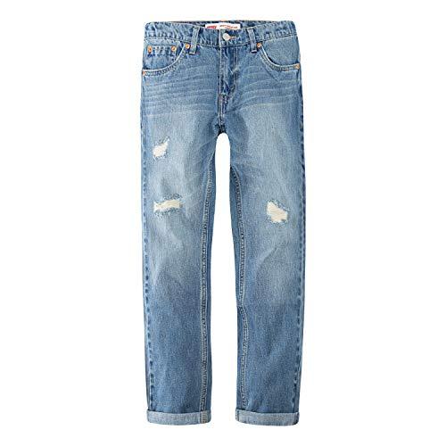 Levi's Boys' Big 502 Regular Fit Taper Jeans, Free Throw, 14