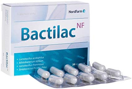 Bactilac NF, капсулы, 20 шт