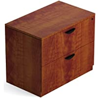 Offices To Go 36 Two Drawer Lateral File Cabinet Dimensions: 36W X 22D X 29 1/2H Two Drawer Lateral File Cabinet W/Top Quality Full Extension Ball Bearing Slides - American Dark Cherry