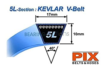 kubota lawnmower kevlar g18 g21 rck48 g18 pto belts x 2 k5410 rh amazon co uk Kubota Alternator Wiring Kubota Service Manual Wiring Diagram