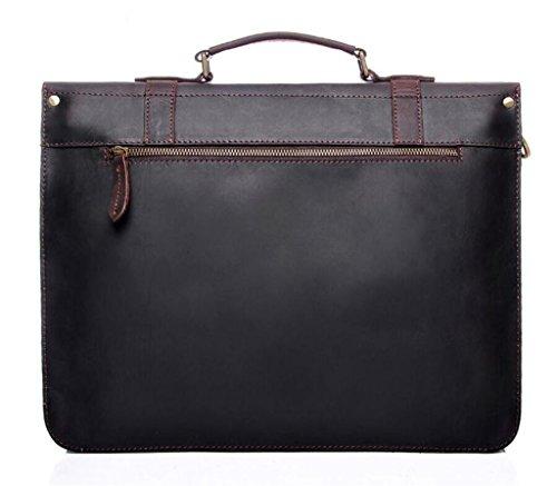 SHFANG Herren Vintage Leder Handtasche / Umhängetasche, Messenger Tasche / Freizeit Aktentasche, täglichen Bedarfs, beste Geschenk