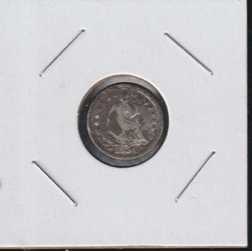 1854 Liberty Seated (1837-1873) Half Dime About Good