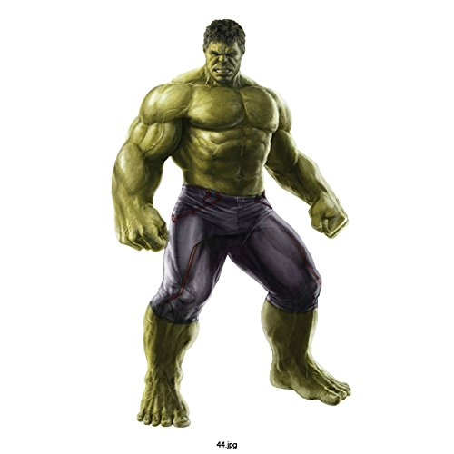 Avengers Age of Ultron, Hulk, standing, on White Background 8 X 10 Inch Photo