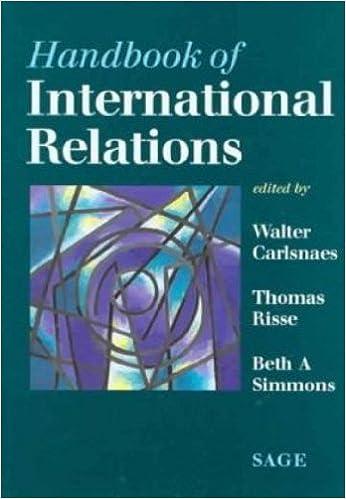 Amazon com: Handbook of International Relations