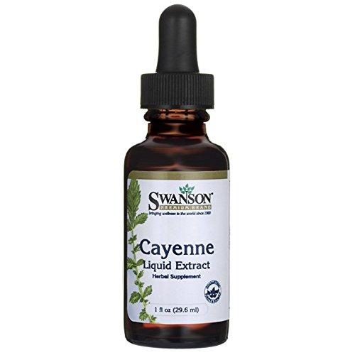 (Swanson Cayenne Liquid Extract 1 fl Ounce (29.6 ml) Liquid)