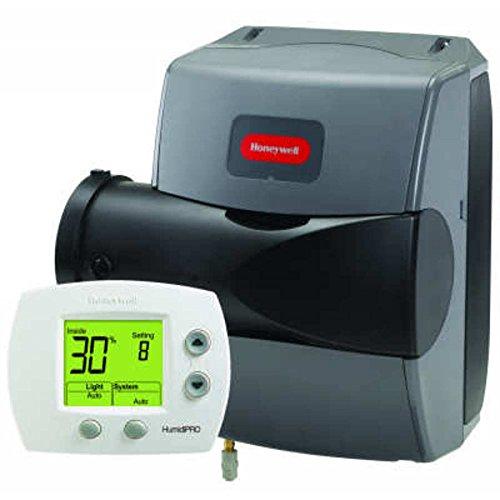 Honeywell HE200A1000 TrueEASE 24 volt 0.75 Amp Flow-Through Furnace Humidifier, 17 gal per Day by Honeywell
