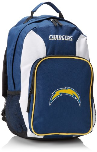 NFL San Diego Chargers Southpaw Backpack, Navy, Medium
