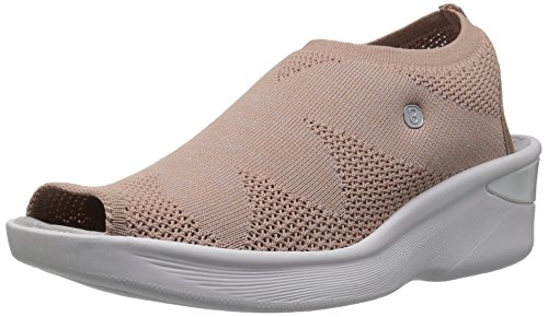 BZees Women's Secret Sandal, Blush Knit, 7.5 M US