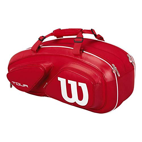 (Wilson Tour Red Collection Tour V 6 Pack)