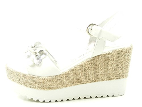 Womens 1 White Sandals 28038 Tamaris 38 Awtngzqp