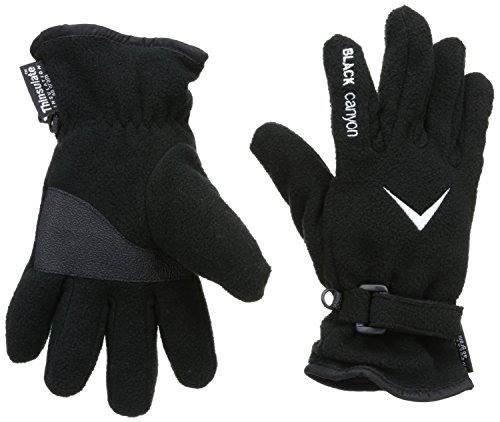 Black Canyon Fleece Handschuhe mit Thinsulate, schwarz, XL, BC8035
