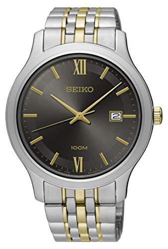 Seiko-Mens-Two-Tone-Special-Value-Stainless-Steel-Bracelet-Watch-SUR231