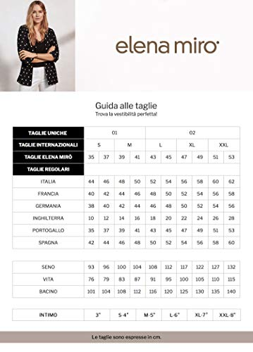 Mirò Elena Blusa Beige italian Size Estampada BqRxF