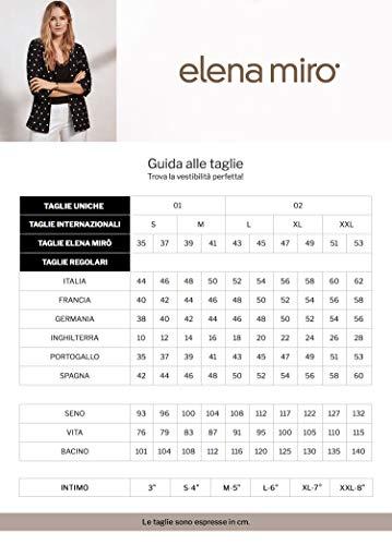 Size Blusa Estampada italian Mirò Beige Elena xwO57RqI5