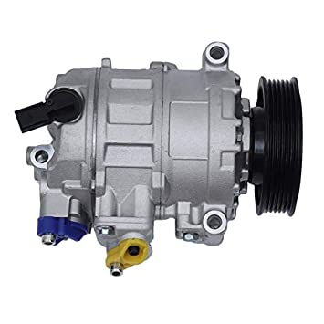 RoadRomao Compresor del Aire Acondicionado para VW Caddy Kasten II Kombi para VW Golf IV 95-04: Amazon.es: Hogar