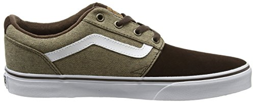 Brown Mehrfarbig Chapman White Herren Stripe Top Low Vans Mixed v6fqq