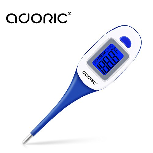 Thermometer, Thermometer for Fever Baby Thermometer Oral and Armpit Thermometer with Flexible Tips - Quick and Easy Use