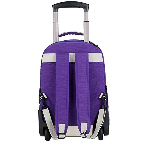 per laptop Bagagli da pollici Borsa Carry Rolling Trolley fino a On Roller Rolling on Backpack Backpack 17 viaggio Ruote Carry Suitcase Bbx wqgaBff