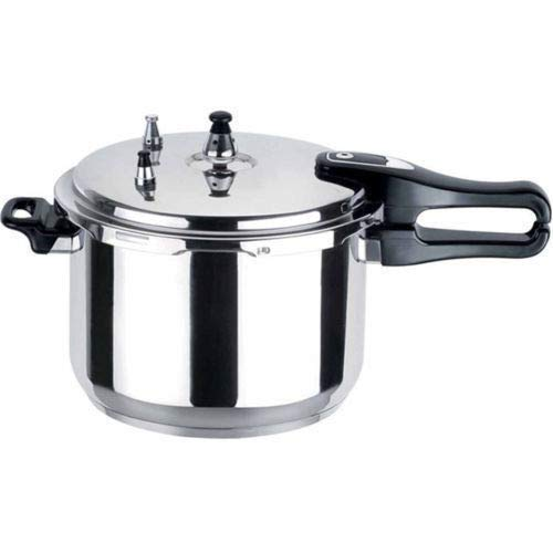 11L Litre Pressure Cooker Aluminium Kitchen Cooking Steamer Catering NT