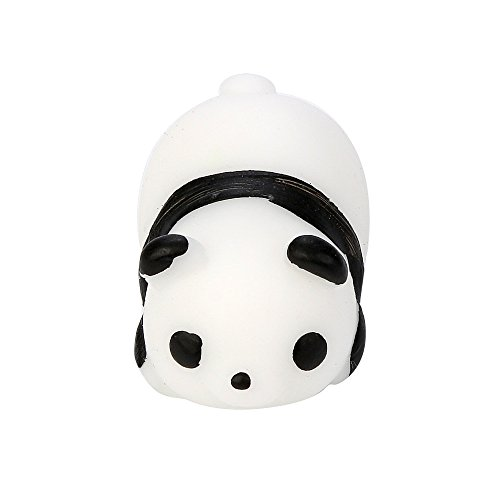 Killer Panda Costume (Squishy Panda, Hometom Squishy Slow Rising Panda Doll Toy (white))