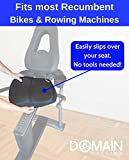 Domain Cycling Extra Large Gel Exercise Bike Seat