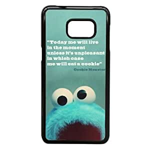 Personalized Durable Cases Samsung Galaxy Note 5 Edge Cell Phone Case Black Olvxf Keep Clam And Love Cookie Monster Protection Cover