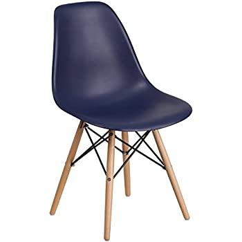 Amazon Com Flash Furniture Elon Series Navy Plastic