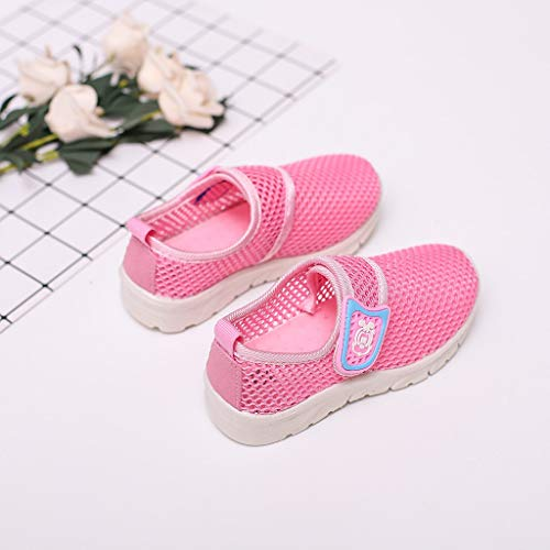 Toddler Kids Baby Boys Girls Mesh Cartoon Sneakers Sport Run Casual Shoes by VEZAD (Image #2)