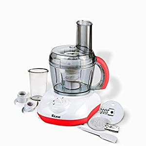 Rico 400W Multifunction Food Processor With Bowl, Off-white, White