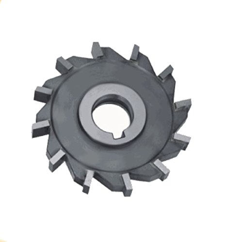 Article Number 24801010150001 0.062 Width 4 Diameter 1 Bore Controx-Neuhaeuser 243488 Side Milling Cutters High Speed Steel-Co Tooth Form Straight