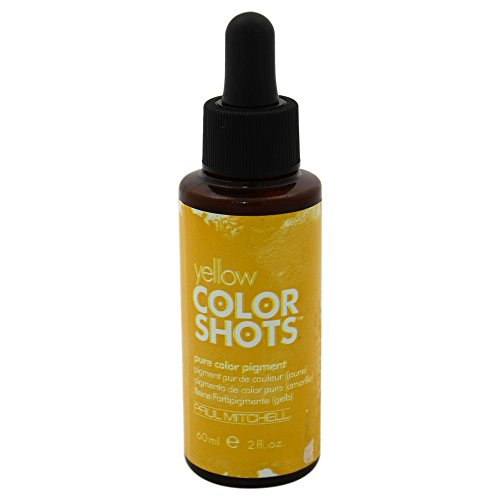 Paul Mitchell Unisex Color Shots Pure Pigment Hair Color, Yellow, 2 Ounce by Paul Mitchell